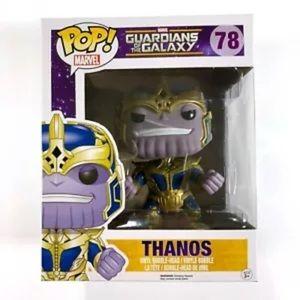 Funko Pop Marvel Thanos 78 Guardians Of The Galaxy